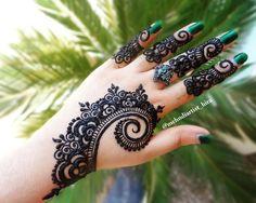 607 отметок «Нравится», 4 комментариев — Hira_Hennaartist (@mehndiartist_hira) в Instagram: «Latest Tutorial➡youtubemehndiartist_hira #henna #henna_i #hennaart #hennadesign #hennalove…»