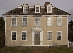 Wadsworth House, Danvers,Massachusetts 1784