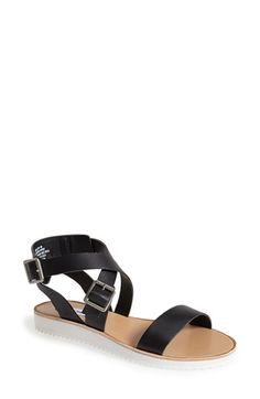 Steve Madden 'Melllow' Crisscross Strap Sandal (Women) | Nordstrom