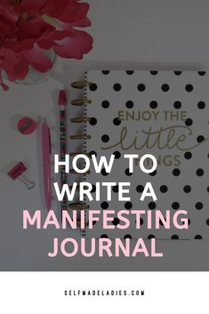 How to Journal for Manifesting Success Spiritual Manifestation, Manifestation Journal, Manifestation Law Of Attraction, Dream Journal, Journal Diary, Affirmations, Mental Health Journal, Keeping A Journal, Behance