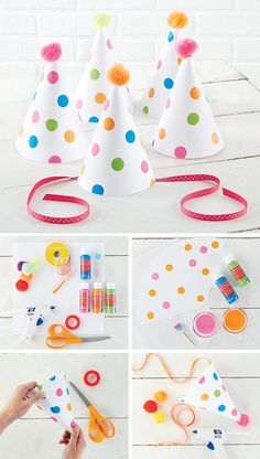 Easy DIY Party Hats