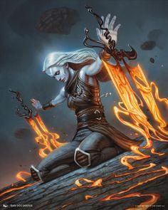 Fantasy Art Women, Dark Fantasy Art, Fantasy Artwork, Fantasy Character Design, Character Design Inspiration, Character Art, Arte Final Fantasy, Art Of Dan, Moon Art