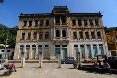 Ponte Nova (MG) - antigo Hotel Glória, que será restaurado