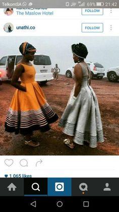 Xhosa Attire, African Attire, African Wear, African Women, African Outfits, African Clothes, African Print Dresses, African Print Fashion, African Dress