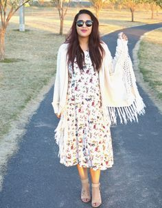 b89b37ab4f4 It doesn t get any better than this floral dress thrifted at Savers by  fashionista Jody Beth.