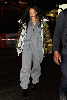 January 9: Rihanna was spotted dining at Tao in NYC