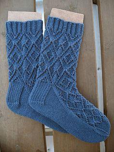 Ravelry: Tea and Scandal Socks pattern by verybusymonkey