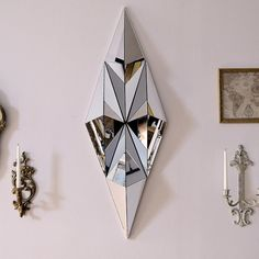 Diamond Mirror Sculpture by SeanAugustineMarch on Etsy, $300.00 With light reflections????