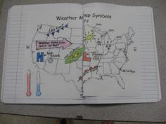 For older class to complete and return. Weather Freebies - Flipchart, Homework, NB Page - Science Notebooking