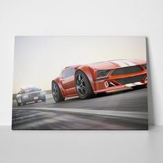 Canvas print CHASE by Sticky!!!