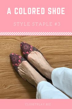 1f7d766702c Style Staples   3 Colored Shoes Closet Play Image Play Image