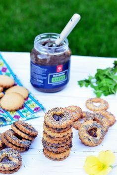 Mákkrémes-citromos keksz recept Cereal, Cookies, Breakfast, Food, Crack Crackers, Morning Coffee, Biscuits, Essen, Meals