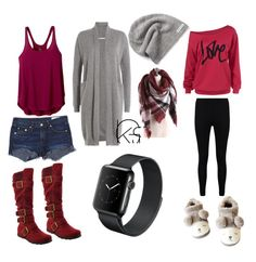 """""""Untitled #4"""" by chanchalbijarnia ❤ liked on Polyvore featuring prAna, Vince, rag & bone/JEAN, Boohoo and Converse"""
