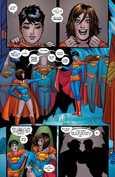 Lois Lane & Selina Kyle, part 3 of 3 by Amanda Conner I really enjoyed this issue, where Lois & Catwoman break into the Fortress of Solitude for Selina's hen night… Tim Drake, Batman Vs Superman, Marvel Dc Comics, Dc Couples, Star Wars Characters Pictures, Drawing Superheroes, Robin Dc, Batman Wonder Woman, Batman The Dark Knight