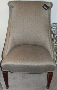 """XT4RVETweed Side Chair 24""""W 33""""D 42""""H - ***Please call for Pricing & Measurements*** ACOSTA'S 16 N. Batavia Avenue Batavia, IL 60510 630-406-0845 Monday-Friday 10-6  Saturday 10-5 & Sunday 12-5 www.acostasconsignment.com"""