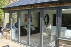 Aluminium Bi-Folding Doors Chesterfield Derbyshire Yorkshire