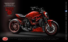 Virtual Tuning Ducati XDiavel - Hellboy