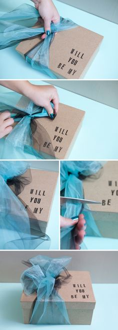DIY Bridesmaid box do this with the shirt wine glass invite