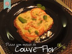 Confraria dos Chefs - Pizza com massa de Couve-Flor