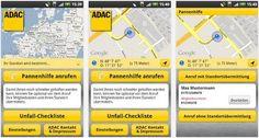 Kostenlose App vom ADAC für Android