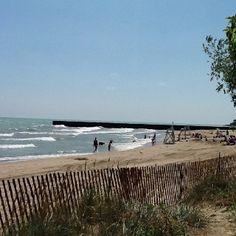 Lawson Park Beach, Evanston, Illinois