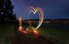 "Light Painting - Michael Bosanko - Switzerland - 06/03/ 2012 ""This was a project undertaken with myself armed with a pair of simple torches, and photographer George Kavanagh"""