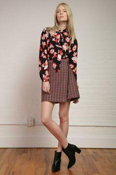 Shoshanna RTW Fall 2015 #nyfw #New York Fashion Week