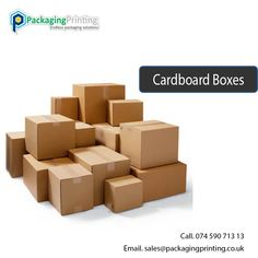 Custom Cardboard Boxes Packaging at Wholesale Send us your dimensions and art work