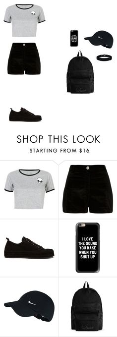 """summer 2016"" by serobabova on Polyvore featuring мода, WithChic, River Island, Ann Demeulemeester, Casetify, NIKE, YOHJI YAMAMOTO POUR HOMME и Marc by Marc Jacobs"