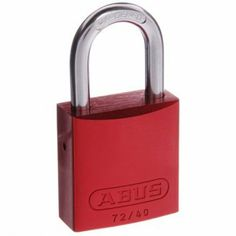Abus 72/40 Aluminium Bodied Padlocks.  Perfect bike locks! Anodised aluminium body provides high strength with light weight. High visibility Full range available from: http://stores.shop.ebay.com.au/locks-keys-and-more
