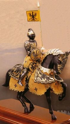 Horse Armor for Allen. And his steed