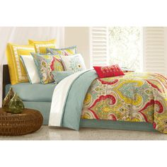 Echo Jaipur Set. i have a silver four post king sized bed for dustin and i...i think this would look perfect :)