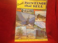 Small Paintings That Sell by Lola Ades SC Art Instruction Book Walter Foster in Crafts, Art Supplies, Instruction Books & Media | eBay