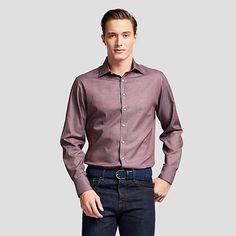 Boyd Plain Slim Fit Button Cuff Shirt