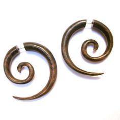 fake wood gauges? on my wish list! theses are awesome. I can get the look without putting huge holes in my ears, but I kinda want to anyways....