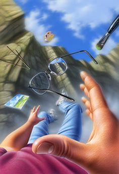 Mixed Media - Plein Air by Jerry LoFaro Arte Final Fantasy, Fantasy Art, Hacker Wallpaper, Creation Art, Animated Love Images, Perspective Art, Scenery Wallpaper, Music Wallpaper, Cute Cartoon Wallpapers
