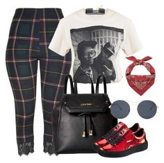 """""""strong"""" by trillest-queen ❤ liked on Polyvore featuring Calvin Klein, Puma, H&M, Forever 21 and Yves Saint Laurent"""