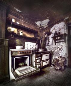 Grandma's Kitchen by Niki Feijen, via 500px #urbex #abandoned #house