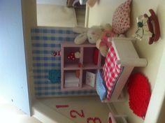 Poppenhuis Fairy Houses, Model Trains, Dollhouses, Kids Room, Toddler Bed, Miniatures, Dolls, Children, Inspiration