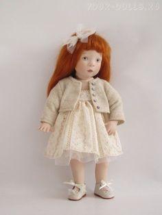 Ursula. Art doll by Sylvia Natterer