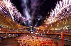 Olympic Games, Athens 2004, Fantastisk upplevelse Stefan Holm, Christian Olsson och Carolina Klüft tog guld. Var med på Stefan och christisns guldfest.