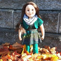 Out playing in the leaves. The sunshine was warm! It's fun when it gets cool enough to wear my favorite leggings, scarf, shrug. Love all the coordinates. Doll Clothes, Harajuku, Sunshine, Leaves, Leggings, Warm, Dolls, Trending Outfits, Unique Jewelry