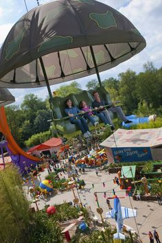 Walt Disney Studios Park, Toy Story Playland - Toy Soldiers Parachute Drop, Disneyland Paris