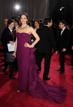 Jennifer Garner at the 2013 Oscars by Vielet Luxe Performance Merino www.vielet.com