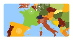 Metropolitan areas of Europe Quiz quiz: an entertaining map game to learn the major cities of Europe, including Paris, London, Istanbul and Barcelona. Free resource for teaching geography, great for interactive whiteboard. World Geography Games, Teaching Geography, Europe Quiz, Map Games, Interactive Whiteboard, Online Games, Play