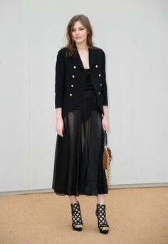 Amber Anderson - Burberry Prorsum - London Collections Men AW16 - January 11, 2016 #LCM