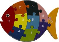 Numbers Fish Puzzle