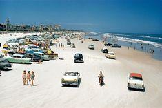 Normal day in Daytona Beach 1957