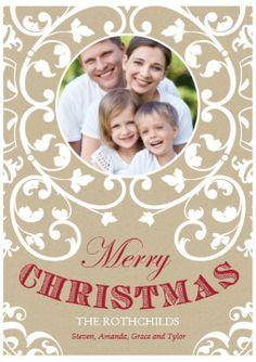 christmas flourish costco flourish invitation cards card stock christmas cards christmas - Costco Xmas Cards