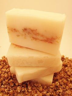 Chamomile scented soap by PearlyQueenSoapery, $6.00